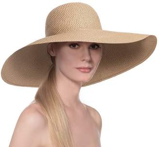 Eric Javits Luxury Fashion Designer Women's Headwear Hat - Floppy
