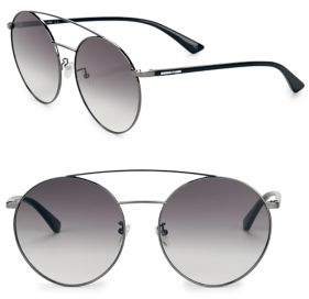 McQ 61MM Round Sunglasses