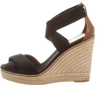 Tory BurchTory Burch Crossover Espadrille Wedges