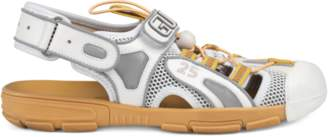 Gucci Men's leather and mesh sandal