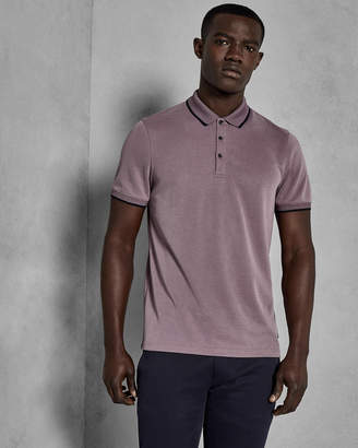 Ted Baker BELVER Soft touch Oxford polo shirt