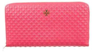 Tory Burch Marion Embossed Leather Continental Wallet w/ Tags