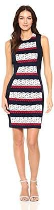 Tommy Hilfiger Women's Americano Lace Sheath Dress