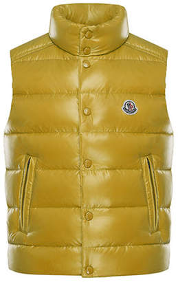 Moncler Tib Quilted Puffer Vest, Size 4-6