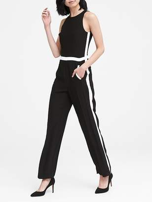 Banana Republic Side-Stripe Jumpsuit