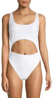 Rachel Roy One-Piece Cut-Out Swimsuit