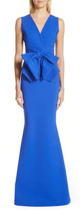 Chiara Boni Oshun Bodice Bow Evening Dress