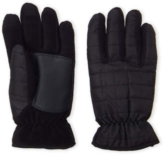 Timberland Black Quilted Ski Gloves