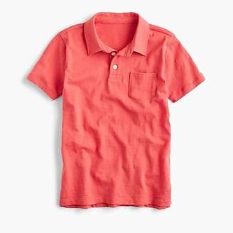 J.Crew Boys' slub cotton polo shirt