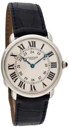 Cartier Ronde Louis Watch