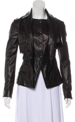 Tom Ford Leather Casual Jacket