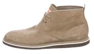 Louis Vuitton Chiapas Damier Ankle Boots