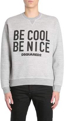 DSQUARED2 Round Collar Sweatshirt
