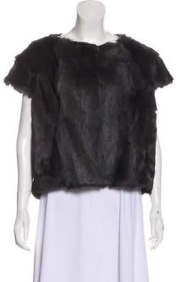 Pologeorgis Fur Short Sleeve Jacket