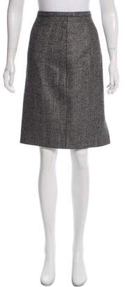 Max Mara Wool Knee-length Skirt