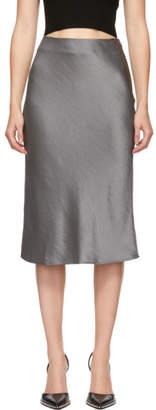 Alexander Wang Grey Wash and Go Skirt