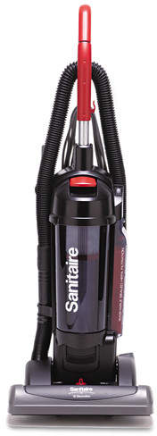 Sanitaire Sanitaire True HEPA Commercial Bagless/Cyclonic Upright Vacuum