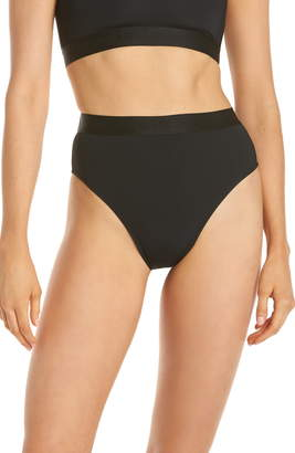 BETH RICHARDS Kim High Waist Bikini Bottoms