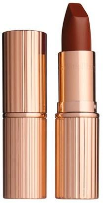 Charlotte Tilbury Matte Revolution Luminous Modern-Matte Lipstick - Birkin Brown $34 thestylecure.com