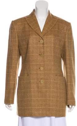 Kiton Cashmere Long Sleeve Jacket