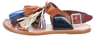 Etoile Isabel Marant Metallic Tassel Sandals