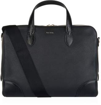 Paul Smith Embossed Leather Briefcase