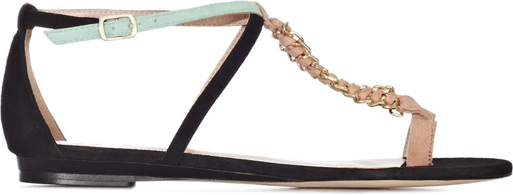 Concorde CHAIN T-BAR SANDALS