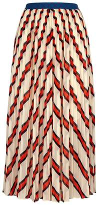 By Malene Birger Alvilamma Striped Chiffon Skirt