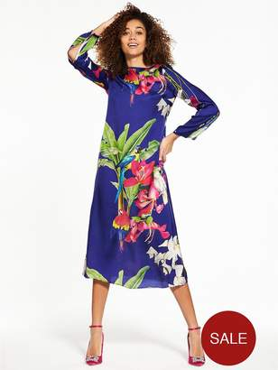 Replay All Over Print Dress