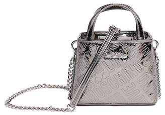 Love Moschino Borsa Embossed Logo Shoulder Bag