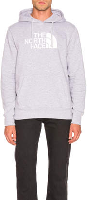 The North Face Half Dome Pullover Hoodie in TNF Light Grey Heather & TNF White | FWRD