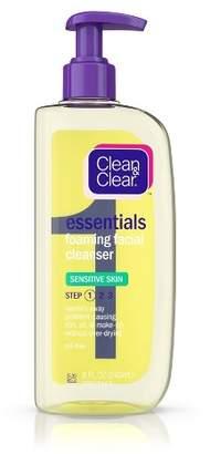 Clean & Clear Essentials Foaming Face Wash for Sensitive Skin - 8 fl oz