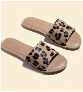 Coconuts by Matisse Leopard Leather Sandal