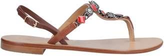 Nanni Toe strap sandals