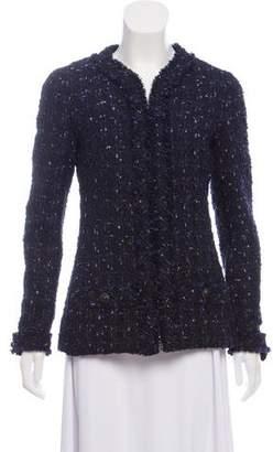 Chanel Wool-Blend Tweed Jacket w/ Tags