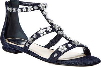 Christian Dior Garland Embellished Sandal
