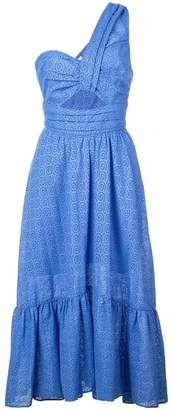 A.L.C. one-shoulder midi dress
