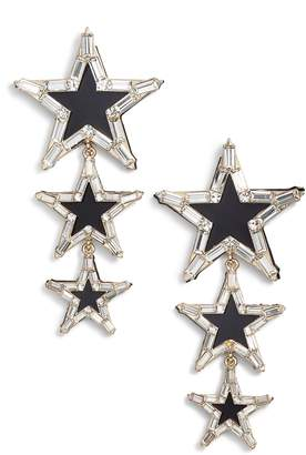 Stella + Ruby Layered Star Earrings