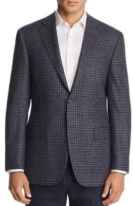 Canali Plaid Classic Fit Wool Sport Coat