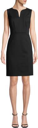 Elie Tahari Natanya Sleeveless Sheath Dress