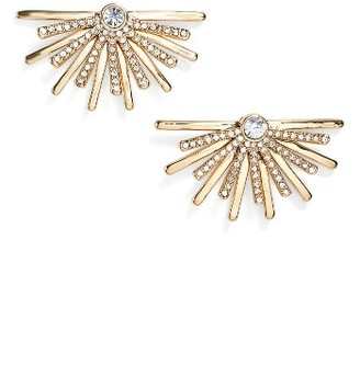 Women's Jenny Packham Light Up The Night Burst Stud Earrings $48 thestylecure.com