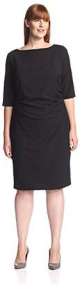 Society New York Women's Ruched Dress