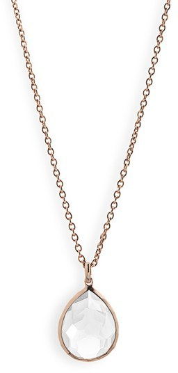 Ippolita 'Rock Candy' Rosé Pendant Necklace