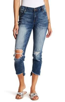STS Blue Harper Frayed Hem Distressed Skinny Jeans