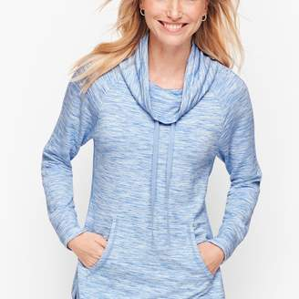 Talbots Heathered Cowlneck Pullover