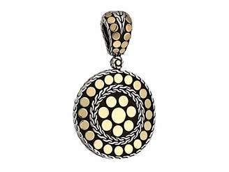 John Hardy Dot Small Round Enhancer Necklace