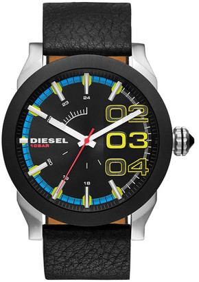 Diesel Men&s Double Down Quartz Watch $160 thestylecure.com
