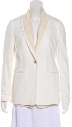 Brunello Cucinelli Structured Button-Up Blazer w/ Tags