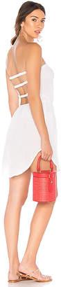 Bobi Open Back Strapless Dress