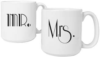 Cathy's Concepts CATHYS CONCEPTS Mr. & Mrs. Gatsby Set of 2 Large Coffee Mugs